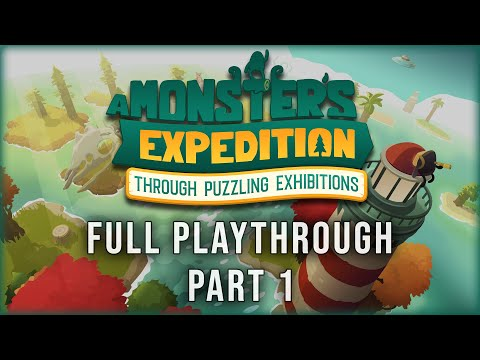 A Monster S Expedition Full Playthrough Part 1 Of 2 Youtube