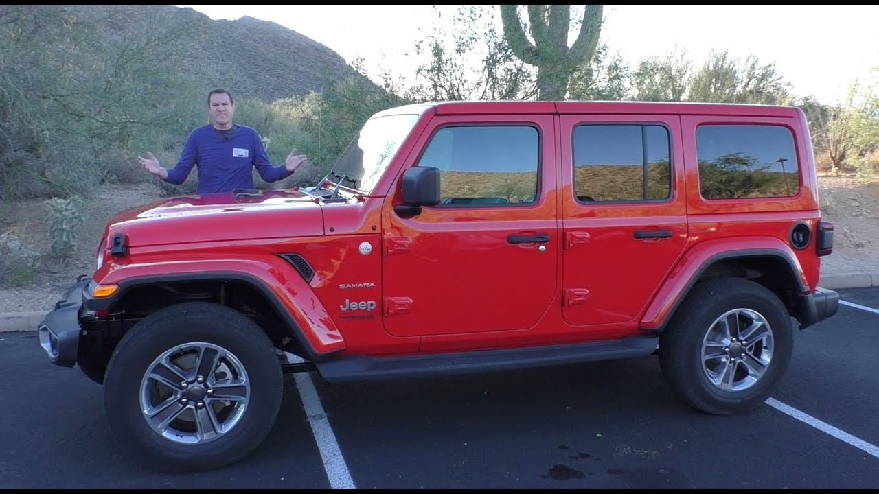 here s why the 2018 jeep wrangler is much better than the old one rh youtube com