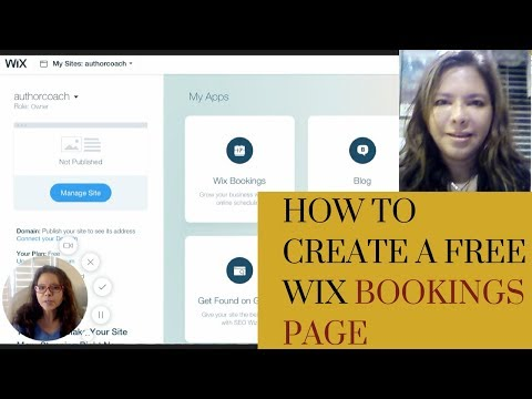 How to create a free Wix bookings page