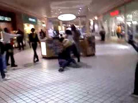 Fight in the rocky mount mall