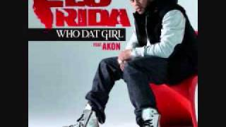 Flo rida ft. Akon - Who Dat Girl mp3 download and lyrics