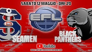 Seamen Milano vs Black Panthers Thonon