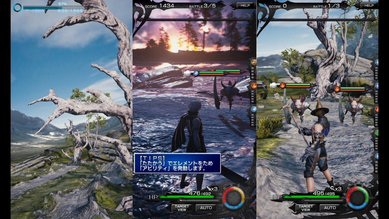 MOBIUS Final Fantasy PC (Steam Version) - Jobs Gameplay [JP] - YouTube