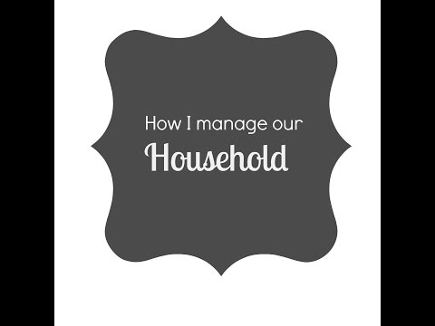 How I manage our household {Routines}