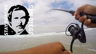 Catching Surfperch in Whale's Vagina | Mission Beach, San Diego, CA