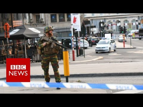 Brussel Station Incident - BBC News