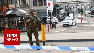 A man has triggered a small explosion in Brussels Central Station, ...