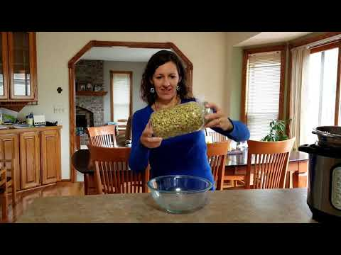Quarantine Hack: Sprouting Lentils for Fresh Food from the Pantry in 2 Minutes a Day!