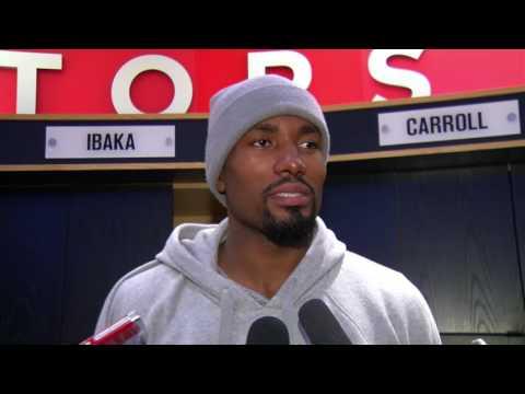 Raptors Post-Game: Serge Ibaka - February 24, 2017