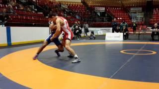 2016 Canadian Senior Championships: 57 kg Final Steven Takahashi vs. Darthe Capellan