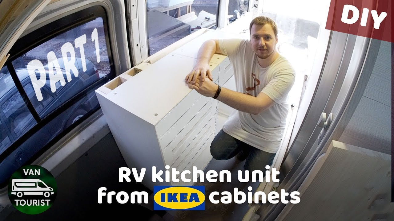 Beau RV Kitchen Build From IKEA Cabinets. Diy Campervan Kitchen Unit For Simple  Van Conversion   Part 1