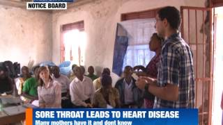 SORE THROAT LEADS TO HEART DISEASE