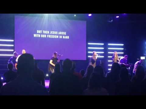 Death Was Arrest performed  the 12 Stone Praise and Worship Team