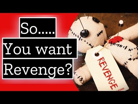 So   You want Revenge on the Narcissist?   Do you tell the new