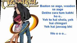 Aashiqui 2 - Aasaan nahi yahaan karaoke with lyrics