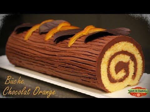 ❅-recette-de-bûche-de-noël-chocolat-orange-❅