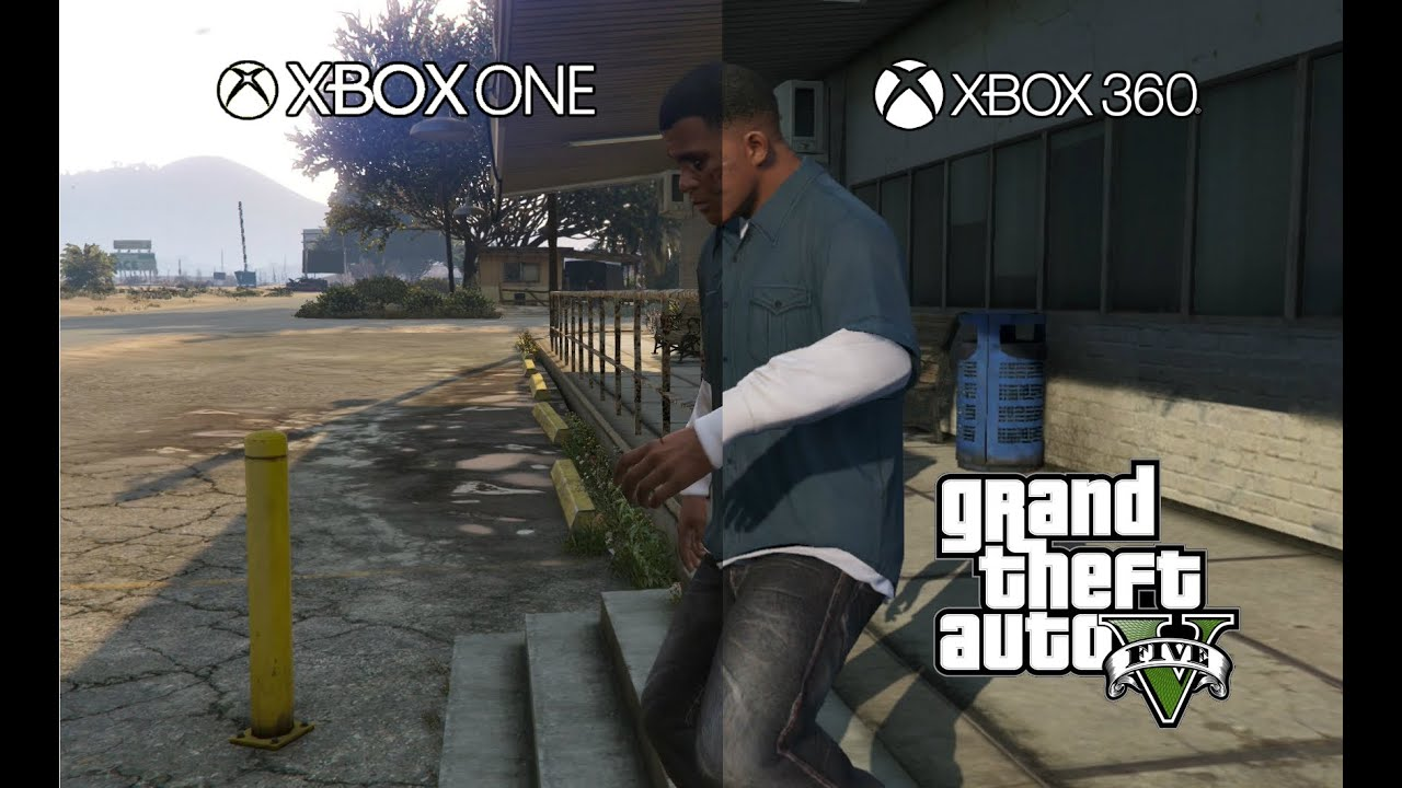 gta 5 graphics comparison xbox one vs xbox 360 youtube. Black Bedroom Furniture Sets. Home Design Ideas