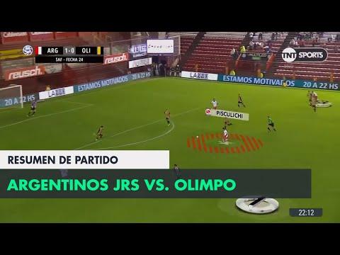Resumen de Argentinos Jrs. vs Olimpo (1-0)   Fecha 24 - Superliga Argentina 2017/2018