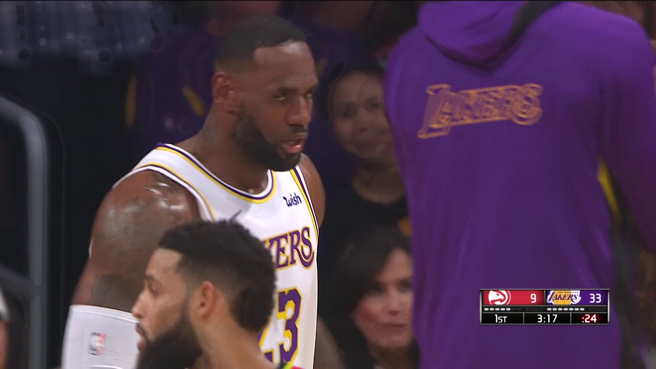 Los Angeles Lakers vs Atlanta Hawks | November 17,2019