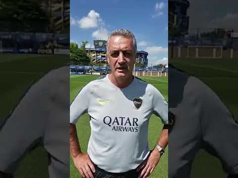 Invitación de Gustavo Alfaro, DT de Boca Juniors, a la Marcha Por La Vida