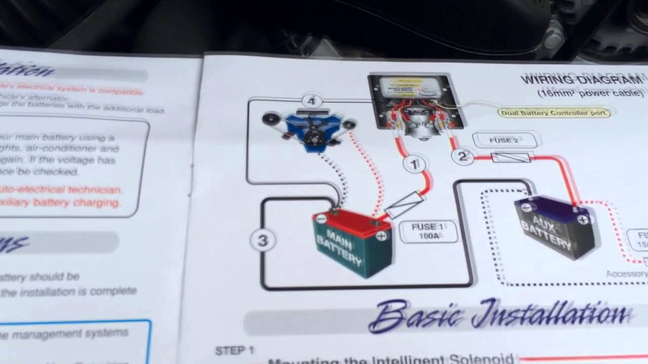 Gm Dual Battery Wiring Kit Schema Diagram Boat Alternator Connection