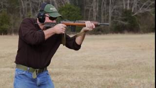M1 carbine submachine gun