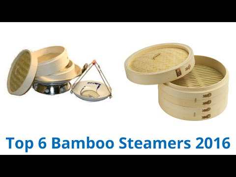 6 Best Bamboo Steamers 2016