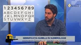 Semnificatia NUMELU  In Numerologie Cu  Onut Agachi
