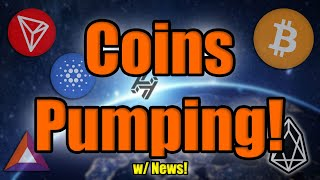 Bitcoin DUMPS! But MAJOR COIN NEWS as Altcoins Race Past Bitcoin Ahead of Halving! BE READY!