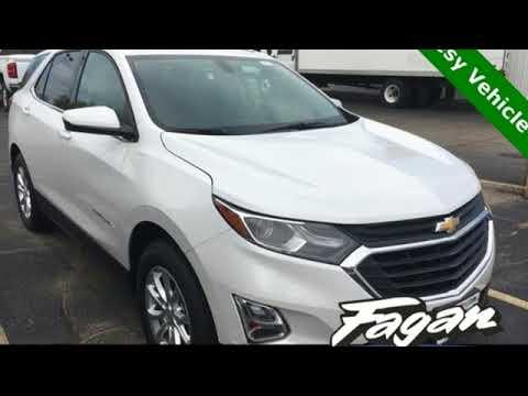 New 2018 Chevrolet Equinox Janesville Wi Rockford Wi 18726