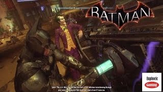 Batman Arkham Knight - Track down Stagg to find Nimbus Power cell to repair Batmobile