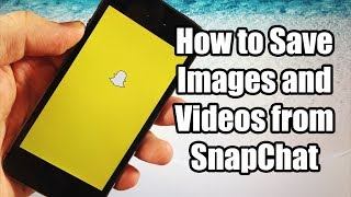 Repeat youtube video How to Save Pictures and Videos from SnapChat for FREE