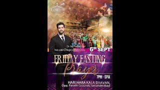 Friday Fasting Prayer Live The Lord 39 s Church Raj Prakash Paul 6 Sep 2019