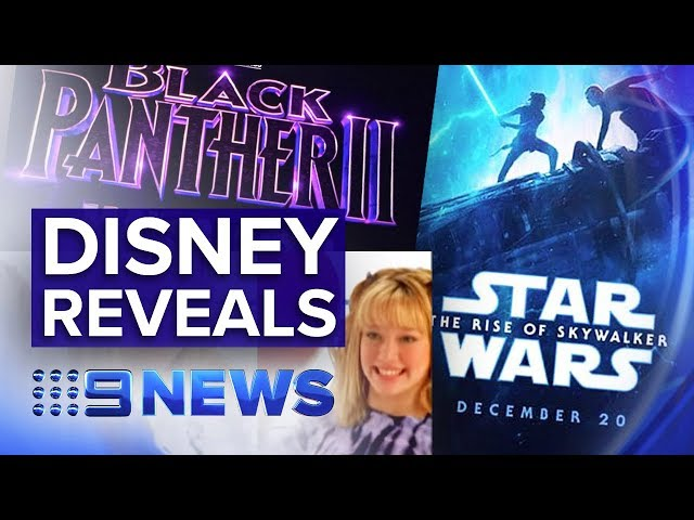 New movies and parks unveiled at Disney's D23 expo | Nine News Australia