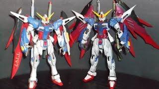 1/100 MG Destiny Gundam Metal Build Review Part 2