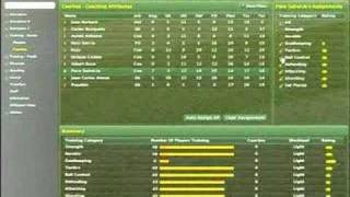 Football Manager 2007 - 6. Training Tips