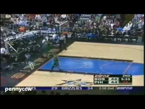 Allen Iverson 33pts vs Boston Celtics 05/06 NBA *Triple OT *One of the most exciting 76ers game ever
