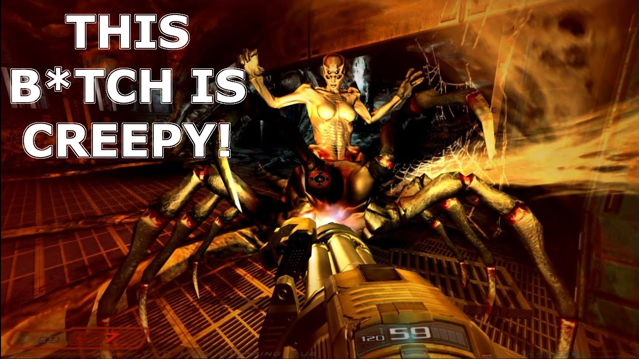 Download Doom 3 - I Just Noticed this B*tch has Boobs! [Let's Play #14]
