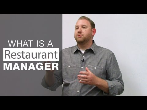 What Is The Role Of Restaurant Manager