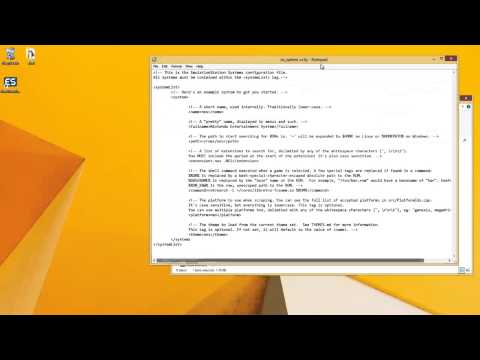 Setting up EmulationStation on Windows - YouTube