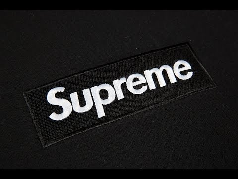 Supreme Unboxing- Black Box Logo Hoodie (How to spot a ...