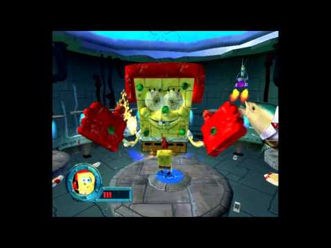 Spongebob Squarepants Battle for Bikini Bottom – Robot Spongebob