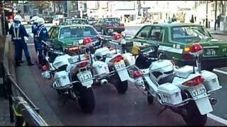 【警察】渋谷ハチ公交番前で揉めているタクシー運転手と白バイ軍団 thumbnail
