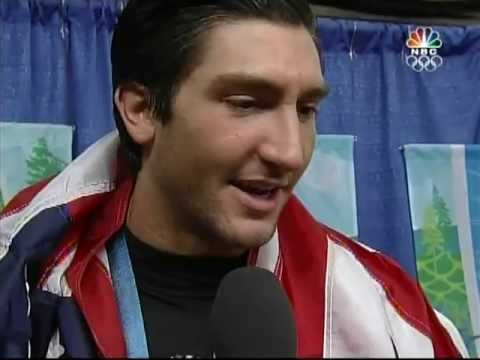 Evan Lysacek - Interview After Medal Ceremony - 2010 Olympics