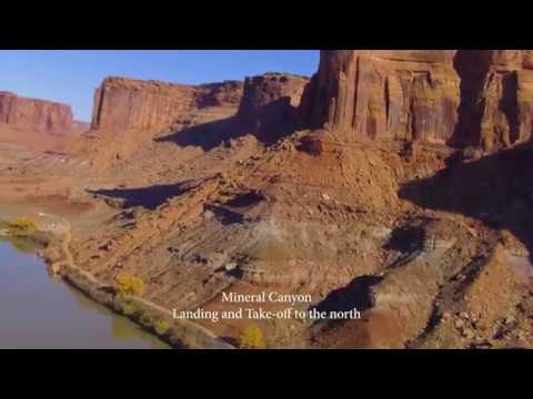Landing & Take-off at Mineral Canyon
