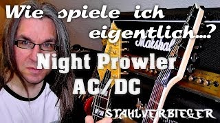 Wie spiele ich eigentlich...Night Prowler von AC/DC?