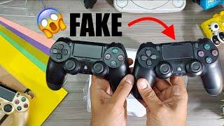 😱 FAKE DualShock 4 V.2 Unboxing + Comparison with REAL DualShock 4 V.2 || UNBELIEVABLE 😱