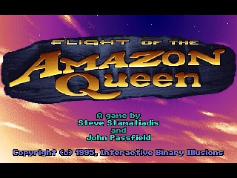 PC Longplay [483] Flight of the Amazon Queen