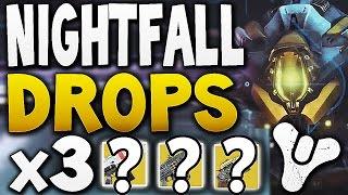 Destiny - NIGHTFALL DROPS x3 (Week 15)