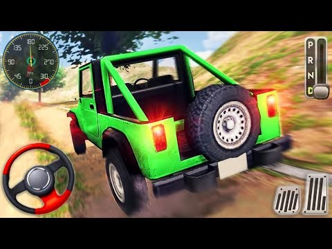 Offroad Extreme SUV 4x4 Jeep Driving - Hummer Driver Stunt Racing Simulator - Android GamePlay
